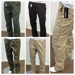 Mens-Military-Style-Casual-Cargo-Pants-Fishing-Camping-Outdoor-Work-Pants