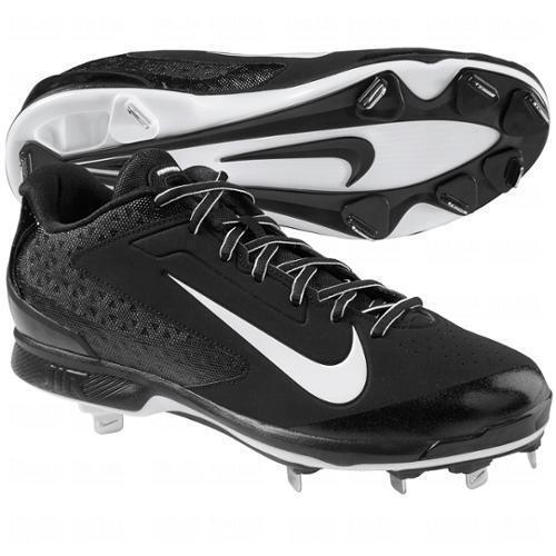 on sale 91b6e f67bb Nike Air Huarache Pro Low Metal Mens Baseball Cleats - Black 8 for sale  online   eBay