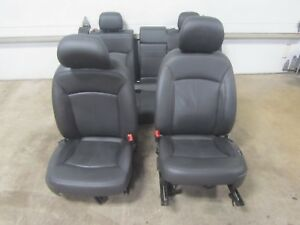 12-13-BUICK-LACROSSE-Black-Leather-Seats-Memory-Driver-Left-Right-Front-Back-Set