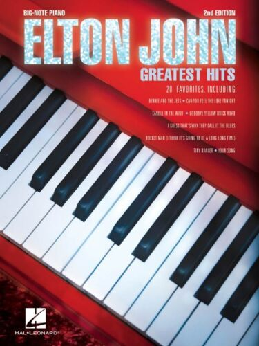 Elton John Greatest Hits Sheet Music Big Note NEW 000221832