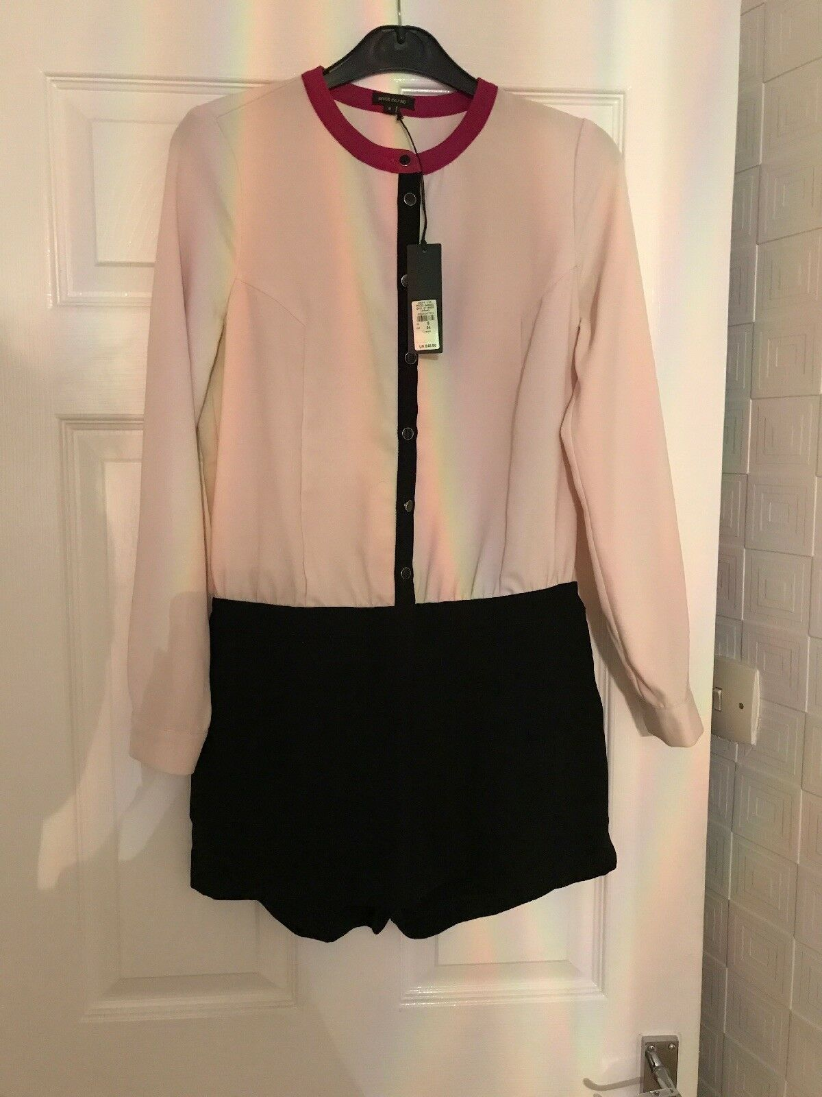 River island playsuit size 8 Rrp