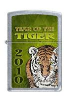Zippo 1188 Year Of The Tiger Chrome Lighter