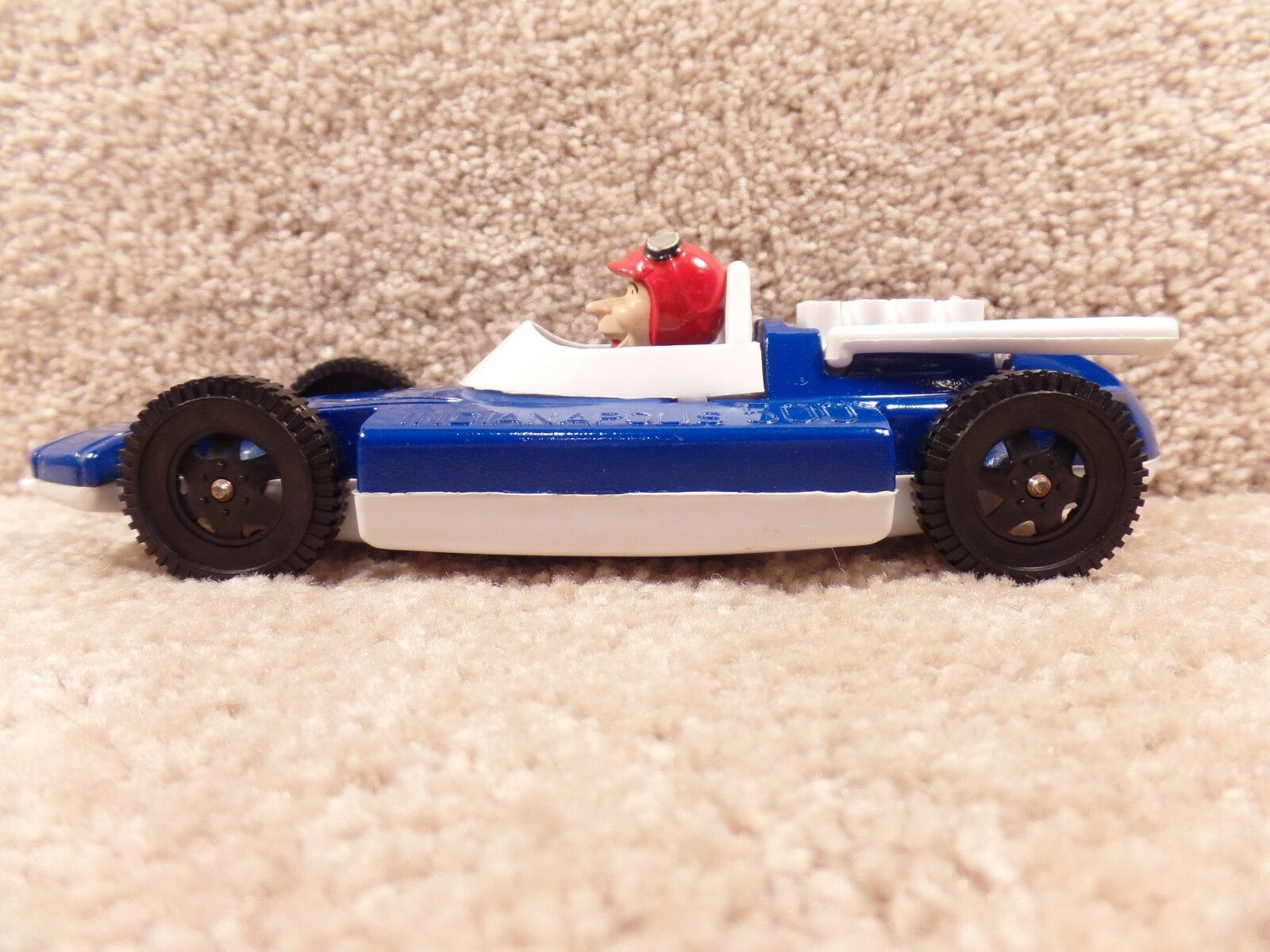 Vintage Indy Indianapolis 500 Promo Souvenir Race Toy Car   98 Metal And Plastic