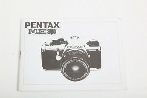 pentax me super instruction manual english nice ebay rh ebay co uk pentax me super instruction manual download pentax me user manual pdf