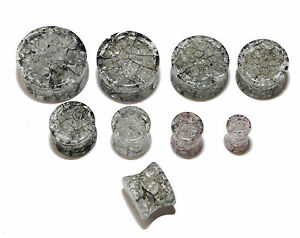 Shattered-Glass-Effect-Stretcher-Ear-Plugs-in-Sizes-6-8-10-12-14-16-18-20mm