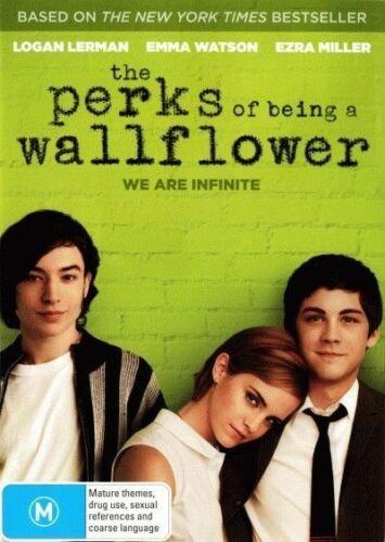 1 of 1 - The Perks Of Being A Wallflower (2012) Emma Watson - NEW DVD - Region 4