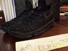 NEW Nike KD IX 9 ZOOM Kevin Durant Triple Black size 11