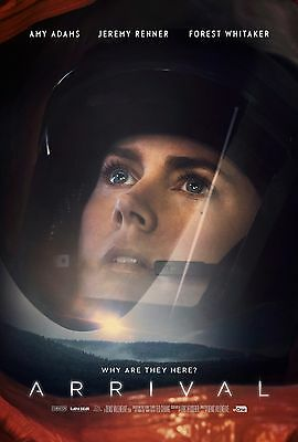 """Arrival Movie Poster 24/""""x36/"""" USA SELLER"""