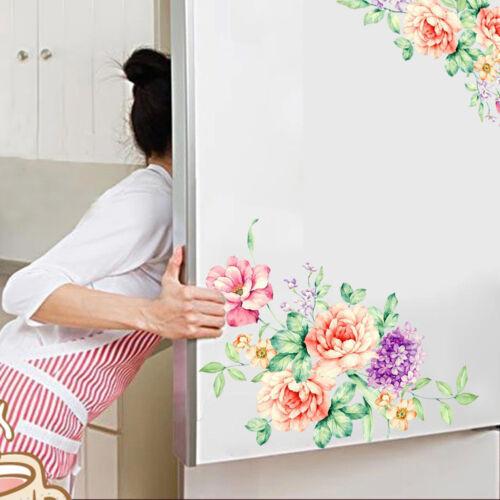 Sticker adesivo parete primavera fiori muro camera bagno cucina soggiorno fiore