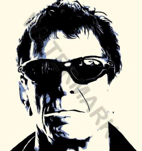 LOU REED SMOKING MUSICIAN ROCK STAR LEGEND GIANT WALL POSTER ART PRINT LLF0557