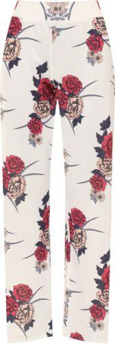 Women/'s Plus Size Fiori Stampa Floreale Gamba Larga Svasato Palazzo Pantaloni Pants