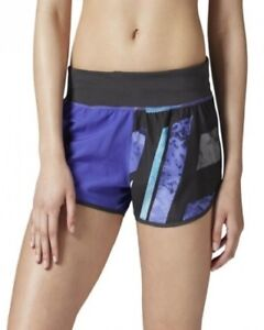Reebok Ladies Speedwick Purple Running Gym Shorts BNWT
