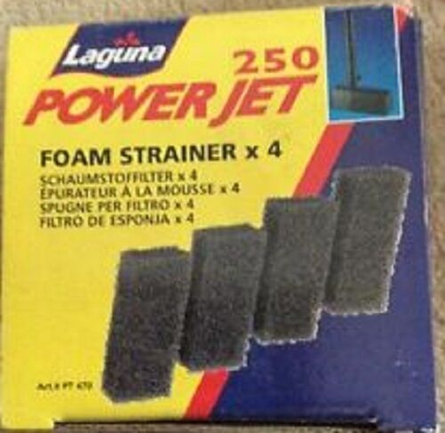 Foam Strainer Ponds PT470 Laguna Powerjet 100//250 FILTER Foams x4 in Box