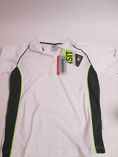Masita  Womens White Short Sleeved Shirt Training Running Size Medium #8D188