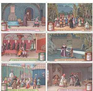 Liebig-Bilder-Serie-951-034-Boris-Goduenow-034-Deutsch