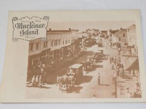 Vintage-Mackinae-Island-Michigan-Souvenir-Photo-Holder-5-5-034-x-7-75-034