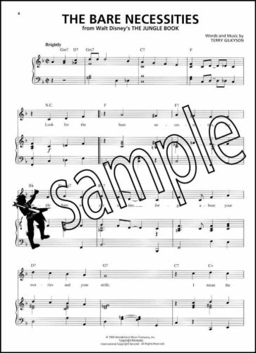 The Nursery Rhyme Book Vocal Sheet Music with Piano Three Blind Mice Jack /& Jill