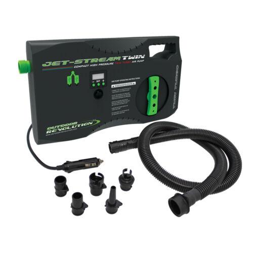 Outdoor REVOLUTION JET STREAM Twin 12 V haute pression pompe électrique Air Auvents