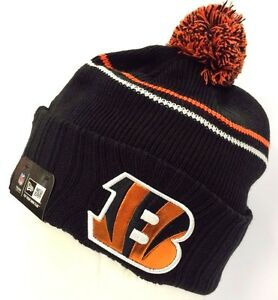 e3b3cec8714 Details about New Era NFL Logo Crisp Skully Winter Beanie Cuff Knit Authentic  Original Hat Cap