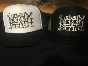 0fe0a4b20dd Image is loading napalm-death-hat-kbd-phobia-carcass-exhumed-spazz-