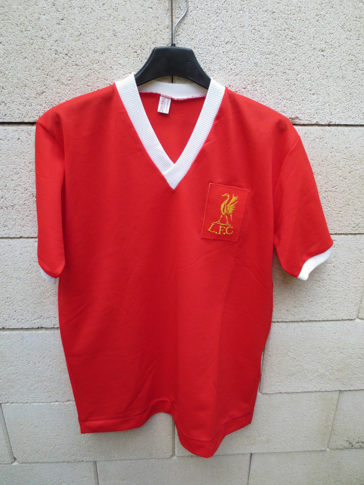 Maillot LIVERPOOL LONSDALE vintage shirt trikot ancien 70'S football 38  40 M