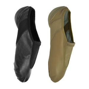 Active Tan Slip On Jazz Shoe by Starlite 9L