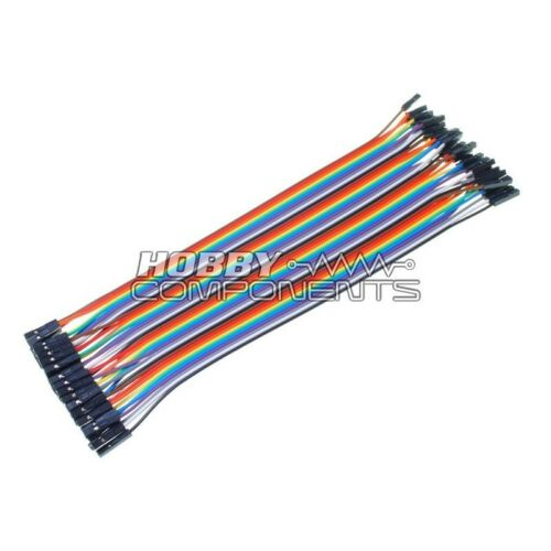 Arduino Hembra A Hembra Soldadura Dupont Jumper Protoboard Cables 40-cable Pack