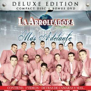 La-Arrolladora-Banda-el-Limon-de-Rene-Camacho-Mas-Adelante-CD-DVD-Sealed-NEW