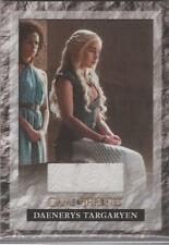 "Game of Thrones Season 6 - S6R1 ""Daenerys Targaryen's Skirt"" Relic Card"