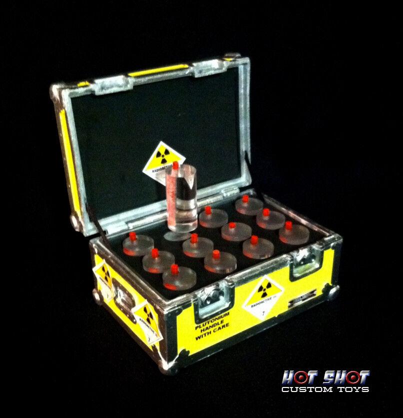 Escala 1 6 caso de plutonio DChung Hot Shot Personalizado Juguetes atrás Futuro Marty McFly Doc