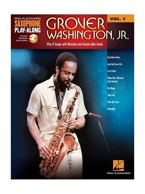 Saxophone Play Along Grover Washington Jr  Saxophone MUSIC BOOK /& DOWNLOAD
