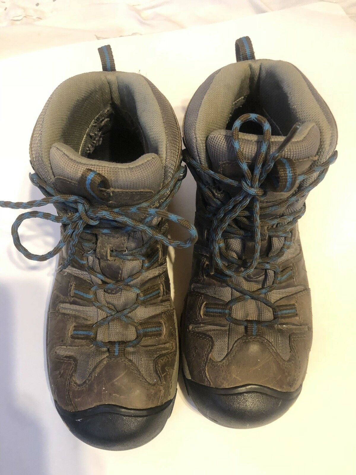 Keen Targhee ll Impermeable Impermeable Impermeable medio seco para mujer botas Para Excursionismo 9 Multi Marrón Azul  primera reputación de los clientes primero