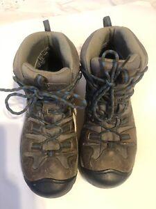 Keen-Dry-Targhee-ll-Waterproof-Mid-Women-s-9-Multi-Brown-Blue-Hiking-boots