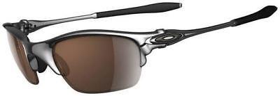 6fa0730066fd Details about NEW Oakley X-metal Half X Sunglasses, Polished / VR28 Black  Iridium, 04-142