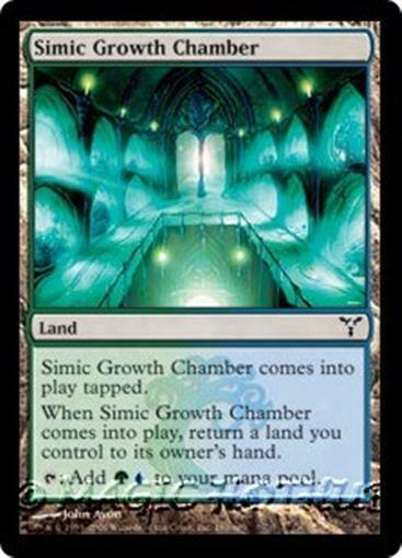 SIMIC GROWTH CHAMBER Dissension MTG Land Com