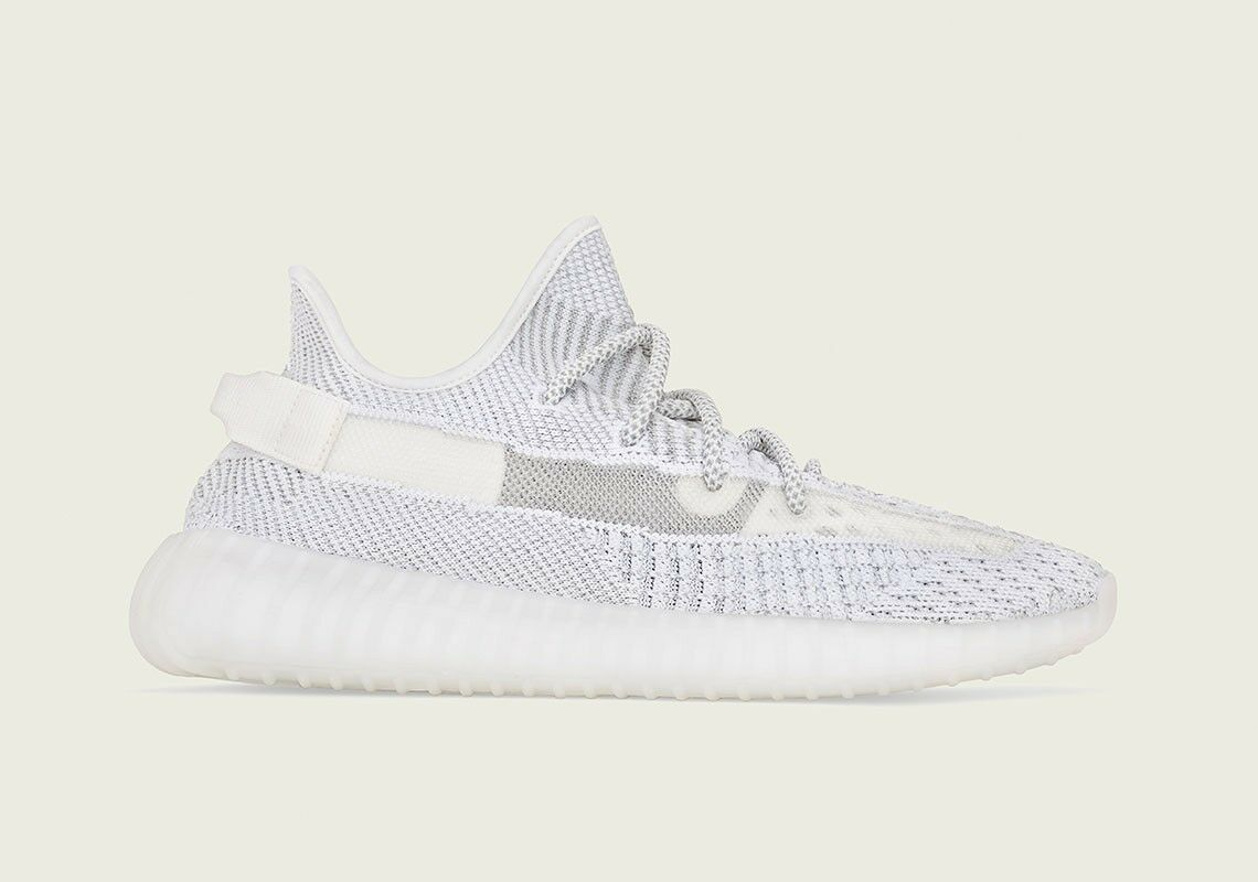Adidas Yeezy Boost 350 V2 Static White non-Reflective Size 11.5 NEW EF2905