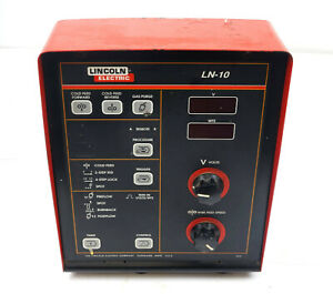 Lincoln-Power-Feed-LN10-Wire-Feeder-Control-Unit-Display