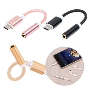 USB-C-Tipo-C-per-3-5mm-Cuffie-Audio-Aux-Cavo-Adattatore-per-un-accesso-Google-Huawei