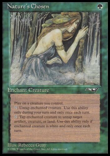 MTG 4x Nature/'s Chosen-Alliances Enchant Creature *