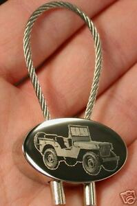 Schlüsselanhänger Willys Jeep Schlüsselanhänger Grün Emailliert Maße Fahrzeug 44x29mm