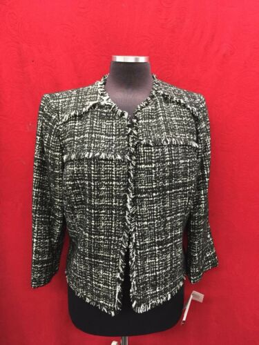retail Nine lined Tweed 139 With size Tag Blazer West 10 new xwRwrYFq