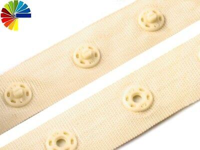Hakenband Druckknopfband Korsettband mit Häkchen