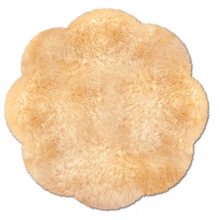 Rond fellteppich de peau LAINEE LAINEE LAINEE lammfelle Beige 140 CM environ | Pratique Et économique  d52dc1