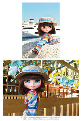 "CWC Takara Tomy Neo Blythe Doll Sea Sailor See 12/"" 1//6 Fashion Doll"