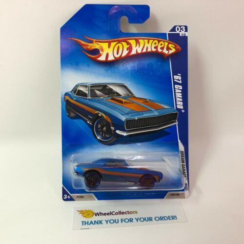 WF12 /'67 Camaro #149 BLUE 2009 Hot Wheels