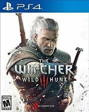 Witcher 3 III: Wild Hunt (Sony PlayStation 4, PS4) - DISC ONLY