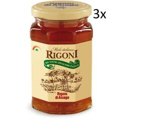 3x Rigoni di Asiago Miele Italiano Honig Einmachglas 400g Italienisches Produkt - Nürnberg, Deutschland - 3x Rigoni di Asiago Miele Italiano Honig Einmachglas 400g Italienisches Produkt - Nürnberg, Deutschland