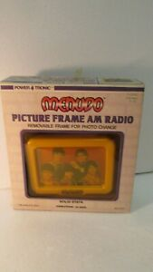 Vintage Power Tronic Par Nasta Menudo Cadre Photo Am Ondes 1984 T3373