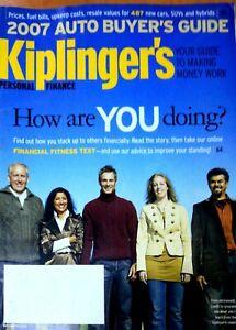 RARE-Magazine-Kiplinger-039-s-Personal-Finance-December-2006-Auto-Buyer-039-s-Guide-2007