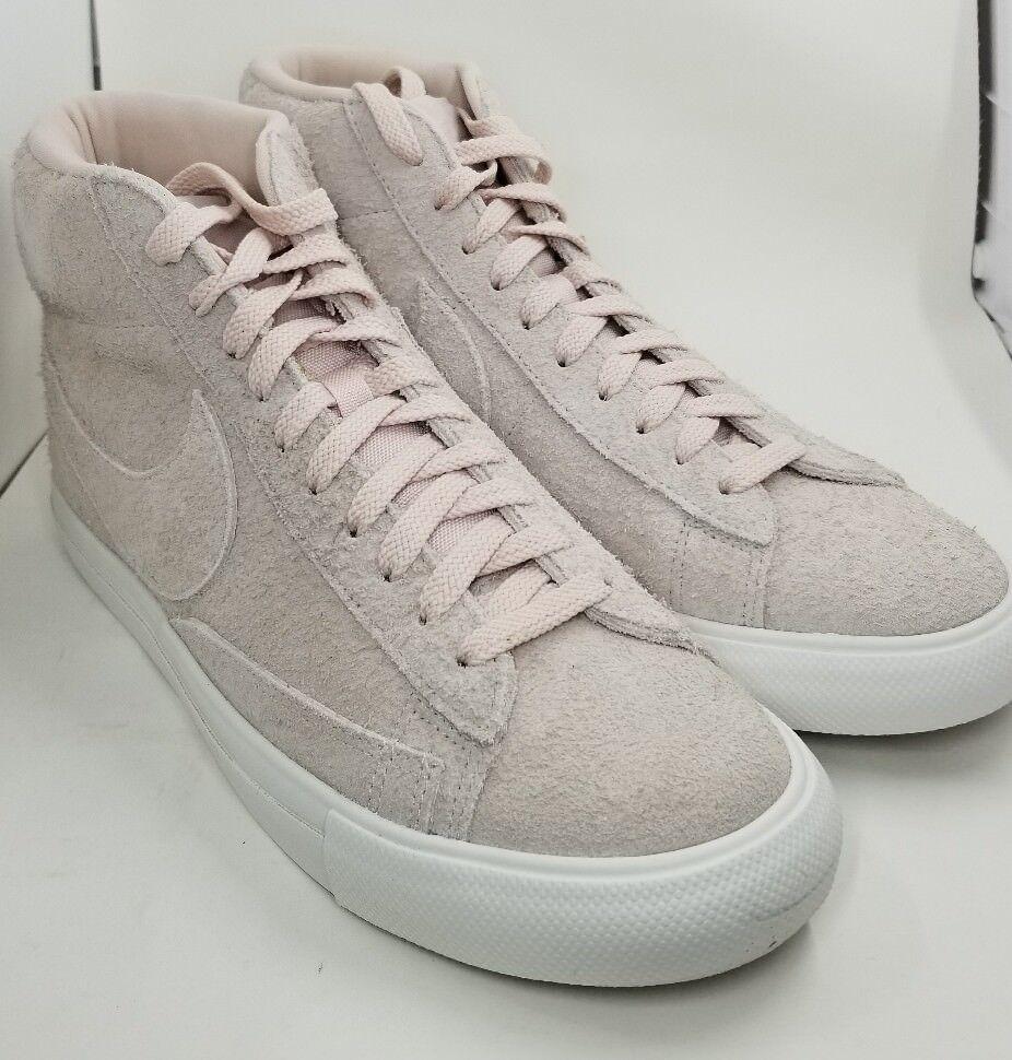 Nike Blazer Mid Siltstone Red Summit White Gum Light Brown 371761-607 SIZE 9
